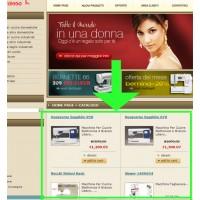 Modulo Vetrina HTML OSCommerce